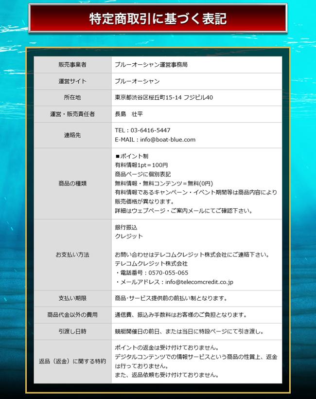 ブルー・オーシャン(BLUE OCEAN) 他サイトとの関連性 検証