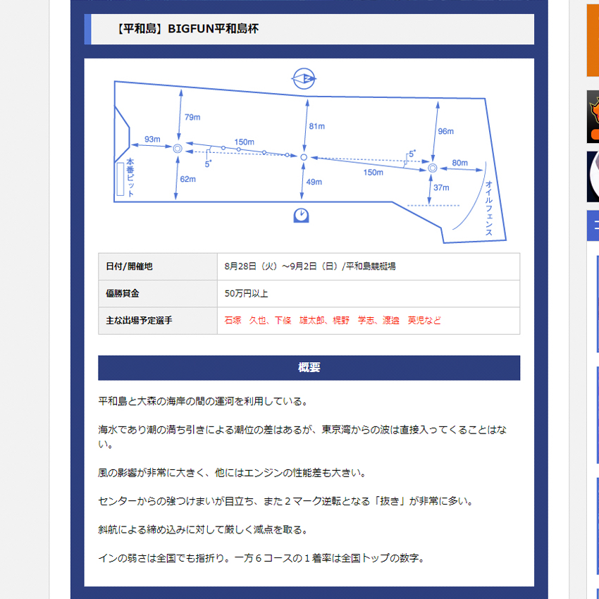 競艇ロード コンテンツ 検証