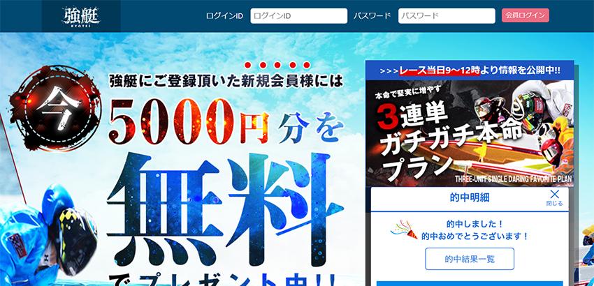強艇 -KYOTEI- 検証