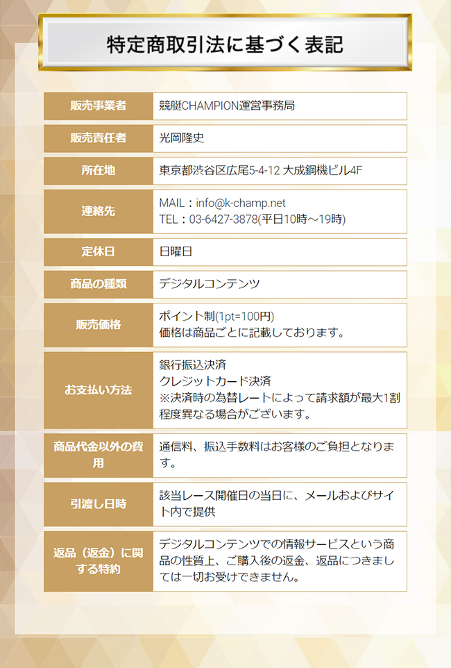 競艇チャンピオン(競艇CHAMPION) 他サイトとの関連性 検証