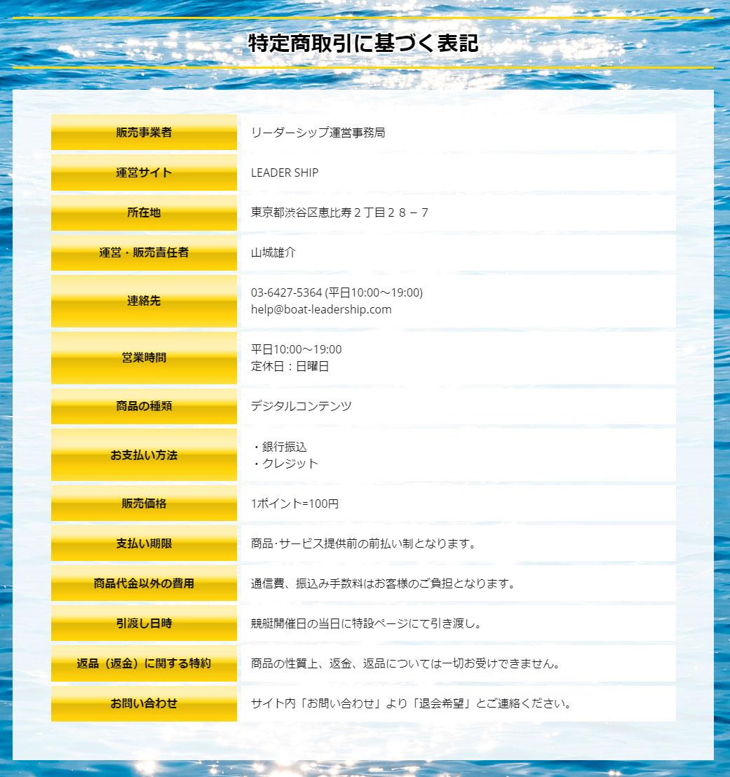 LEADER SHIP 他サイトとの関連性 検証